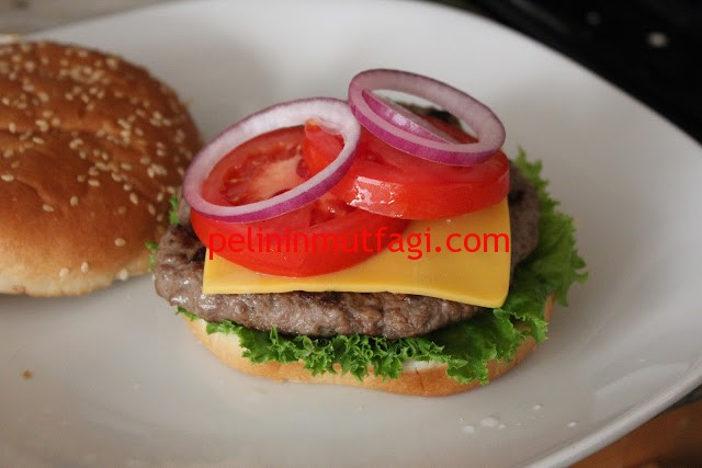 ev yapımı hamburger15